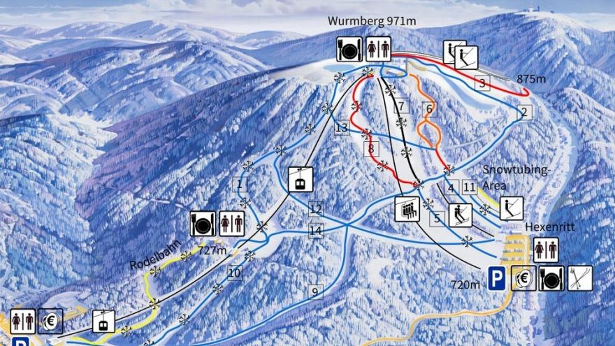 Wintersportgebiet Wurmberg Braunlage Relexa Hotel